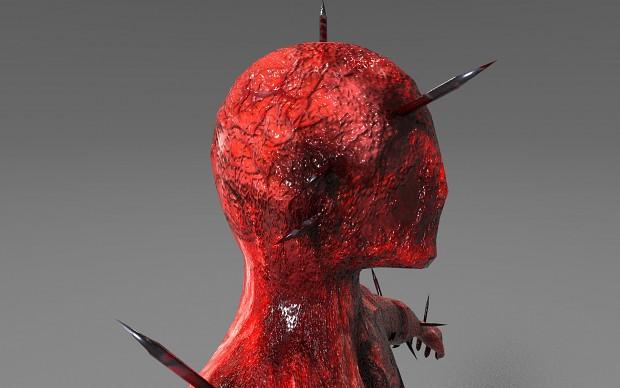 Pierced Urchin - Silent Hill inspired monster