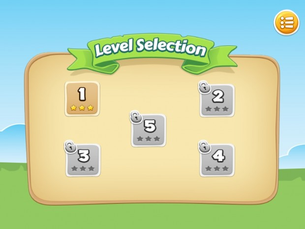 Level Selection (from missions screen)