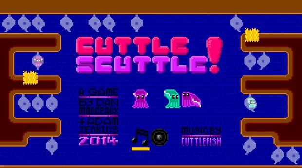 Cuttle Scuttle menu screenshot, November 2014