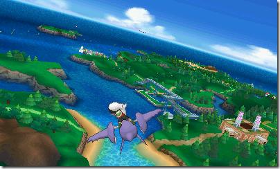 Flying on Pokemon