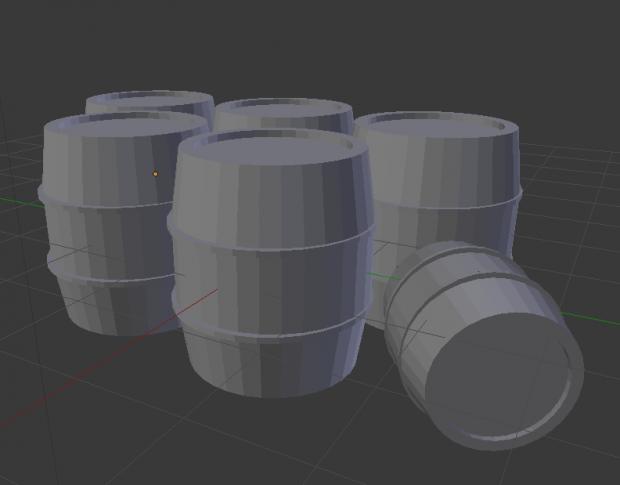 Barrels WIP