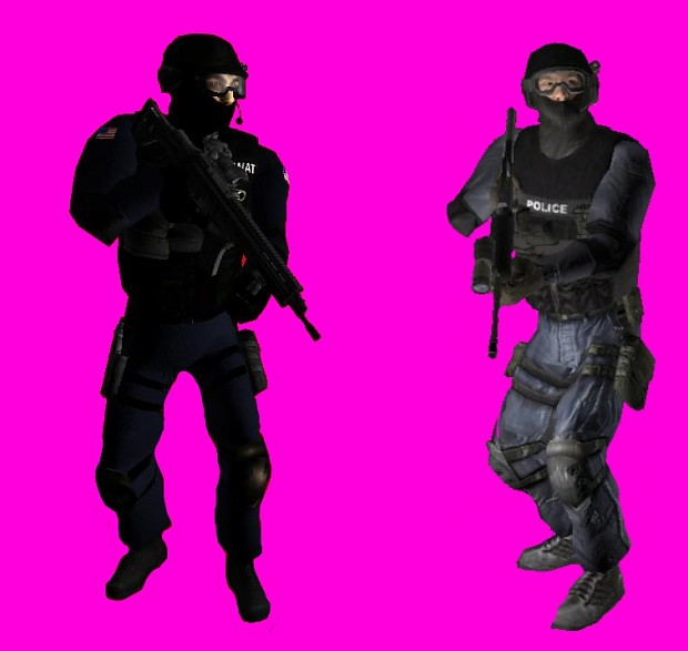 Swat 4 Retextured