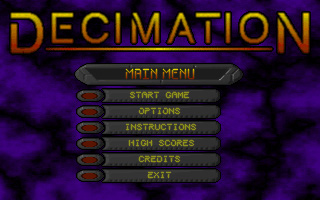 In Game Screenshots of DECIMATION