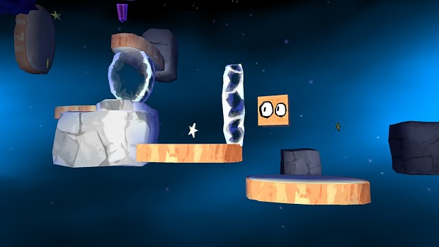 Space Box: The Journey out of the Box (gameplay)