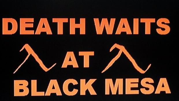 death waits at Black Mesa