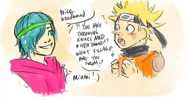 Talking with Naruto! :P