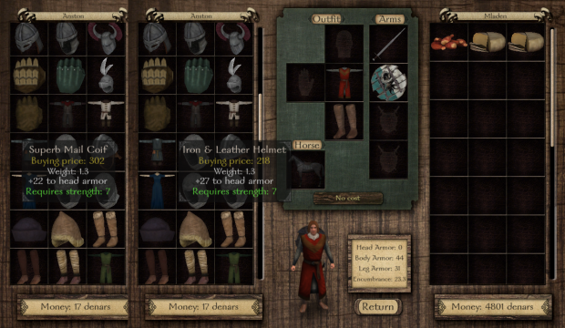 M&B Warband armor prices are just awesome.