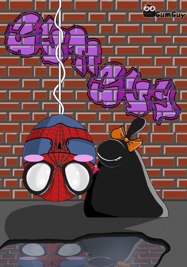 Spider Gum Guy