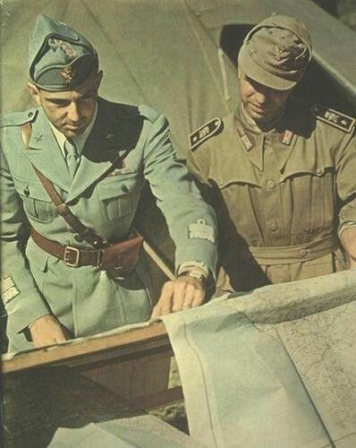 WW2 Eastern Front-Italian Officers