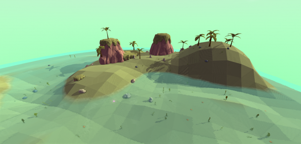 Sea biome in Floatlands