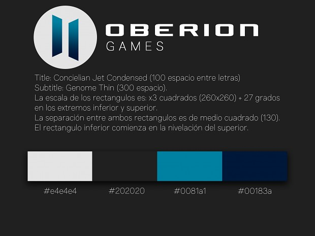referencia logo Oberion Games
