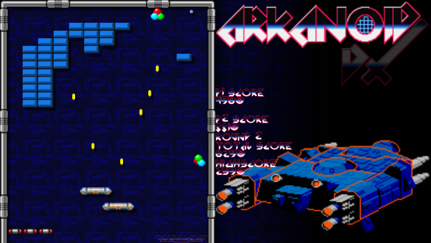 Arkanoid DX In Game