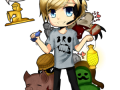 Pewdiepie and Stephano