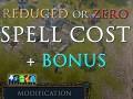 Reduced or Zero Spell Cost + Bonus!