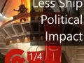 Reduced Ship Political Impact