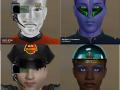 New Facegen graphics for Pioneer Space Simulator