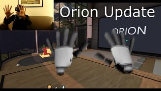 Leap Motion Orion now Live! Before and After Performance Comparison