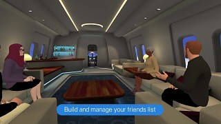 The VR Sociable Network. Out now on Cardboard and Gear VR