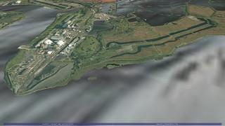 Using GeoVisionary to visualise large LIDAR data sets
