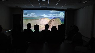 Viewing Geovisionary at GSNI
