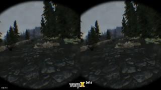 FDR Logging playing Skyrim (vorpX + Oculus DK2)