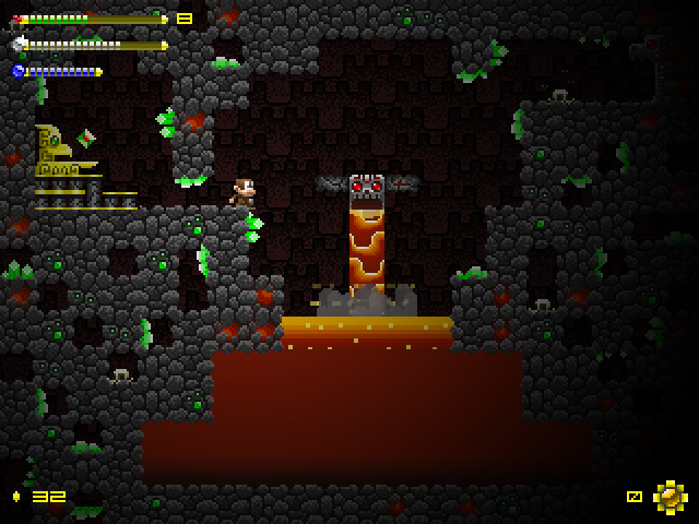 Lava Tunnel Save Room