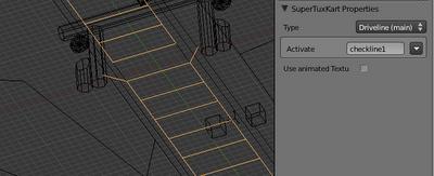 Driveline mesh in Blender