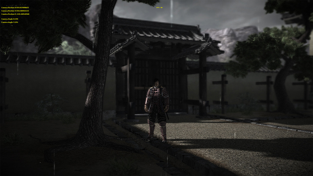 Samurai Legends - Rain in Darkbasic Pro