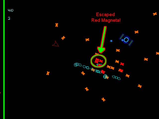 Neon Space: Red Magnetas