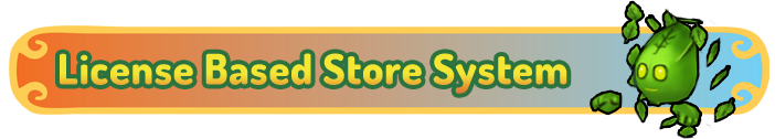License Based Store System Banner