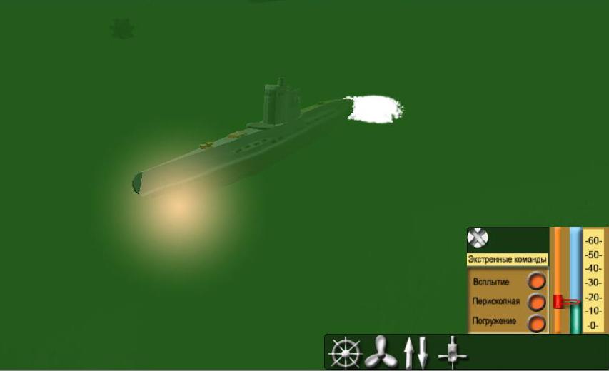 Explosion underwater