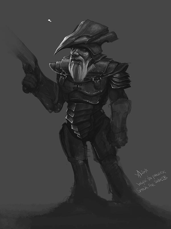 Dwart warrior (w.i.p.)