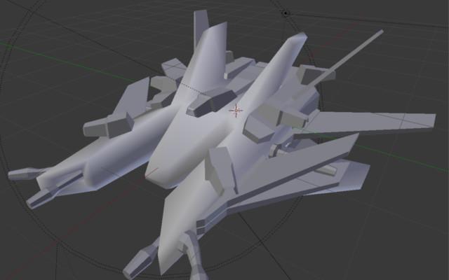 Galactic Elite Medium Ship