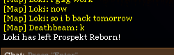 Loki has left Prospekt Reborn! :)