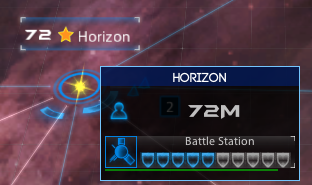 A deployed battlestation during repairs