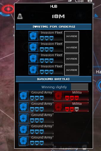 New invasion interface