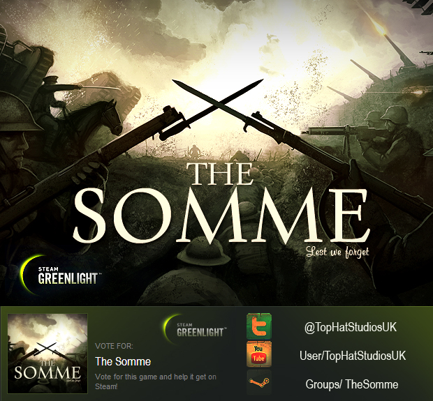 The Somme - Click to Visit Greenlight!