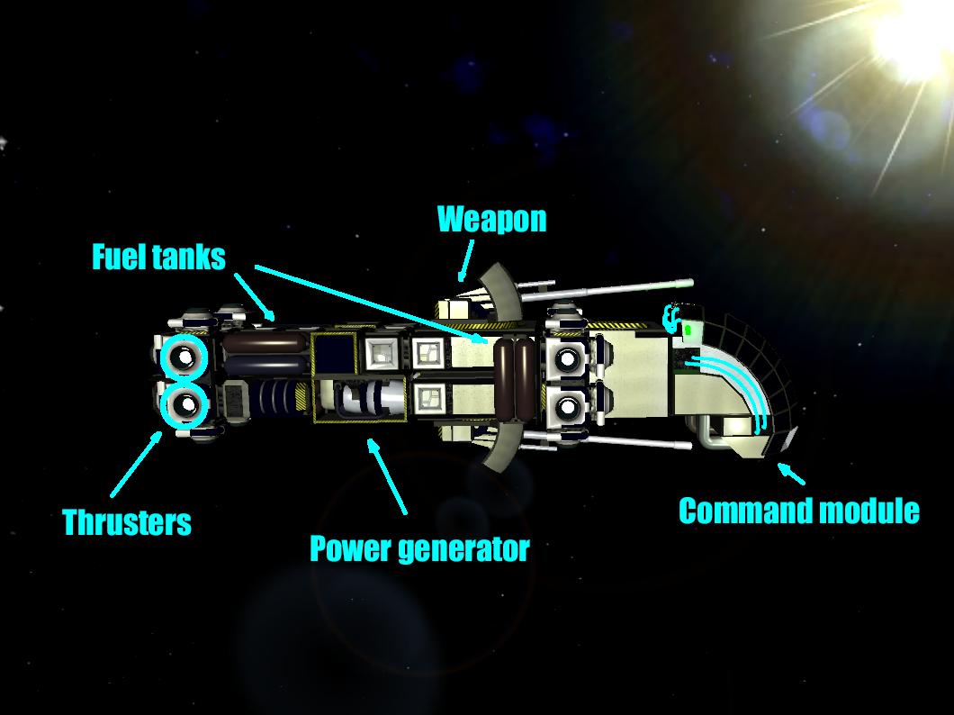 WARSpace Windows Game Mod DB - Spaceship design game