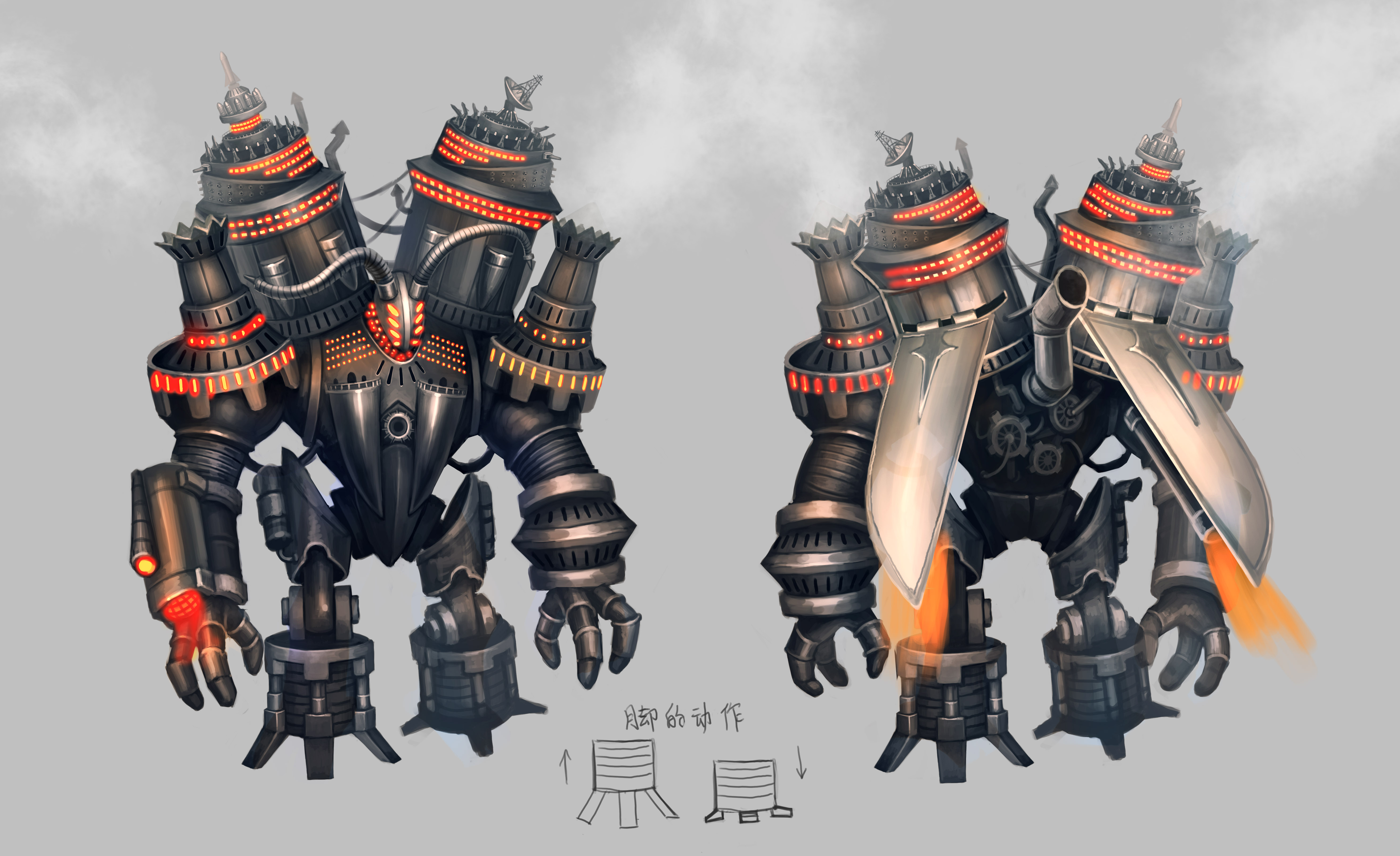 City of Steam Content Dev Journal - The Collossus: His ...