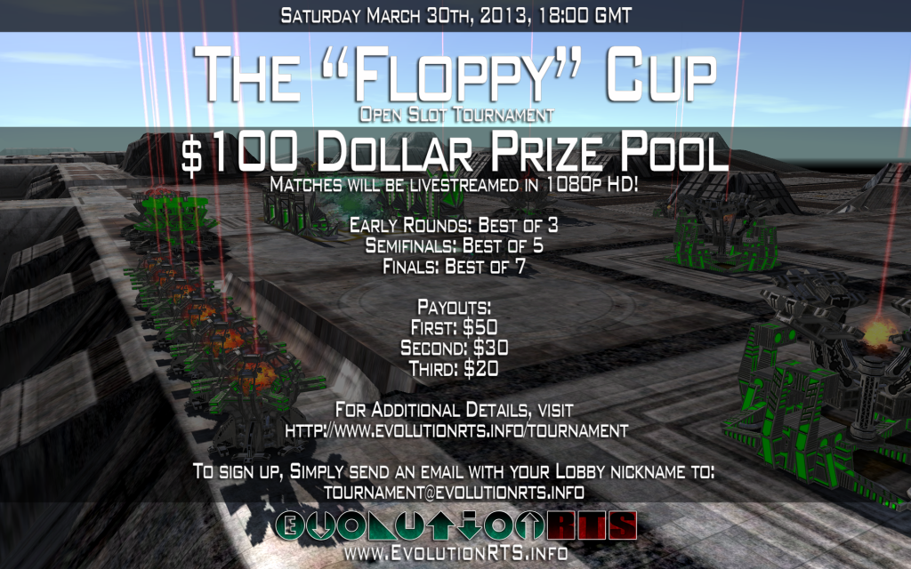 Floppy Cup Evolution RTS Tournament