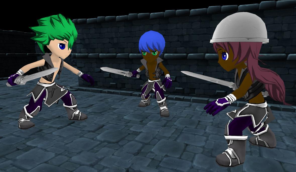 Soul Saga Group Of Dungeon Bandits