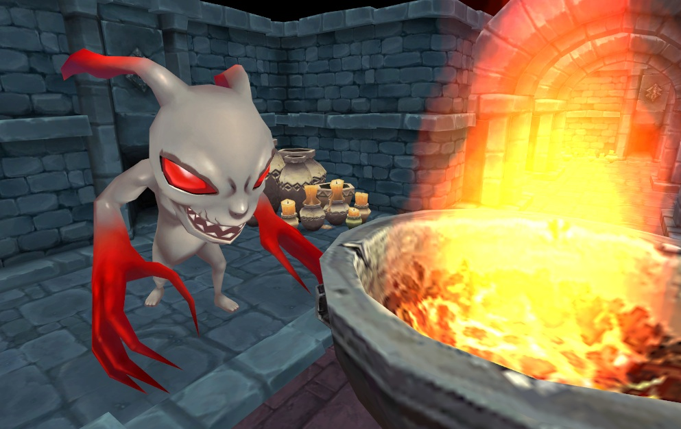 Soul Saga Imp In Dungeon 1
