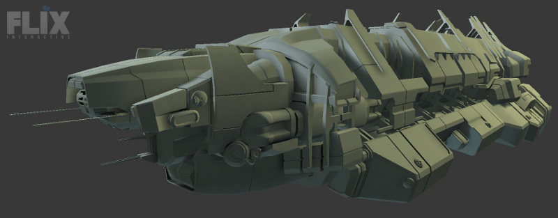 Model development of the FCV Eden Star