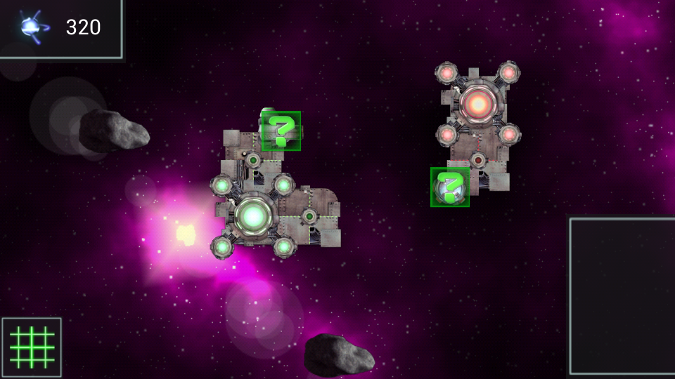 Ionage developer blog - Indie tactical RTS app for Android featuring battling space platforms - practice