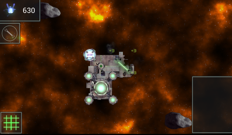 Ionage developer blog - Indie tactical RTS app for Android featuring battling space platforms - engineer