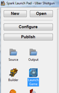 This button will automatically start up NS2 running your mod.