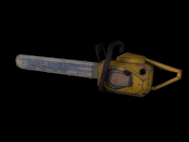 Textured Chainsaw