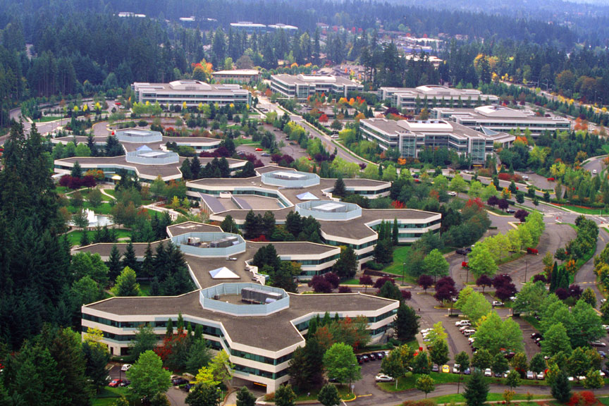 Microsoft In Redmond
