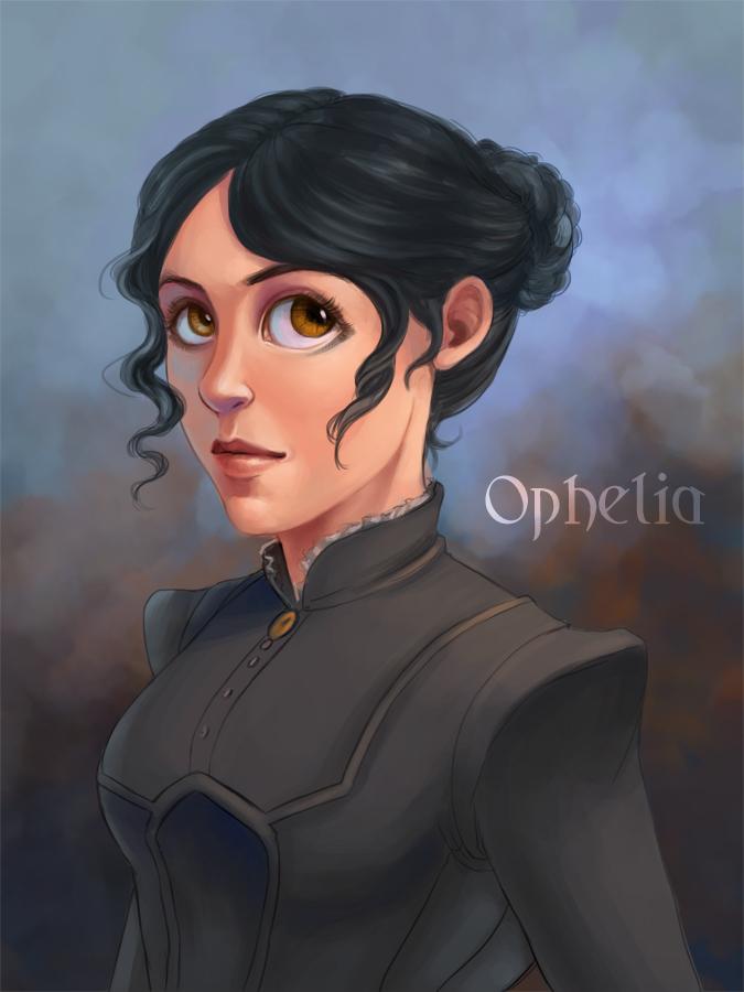 Postmortem Game Character Ophelia