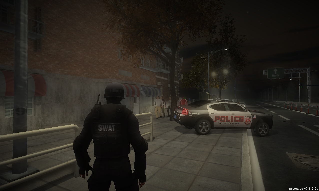 Police Tactics Npcs And Better Lights News Indie Db